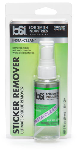 Insta-Clean - Sticker Remover - Residue Remover - BSI Adhesives