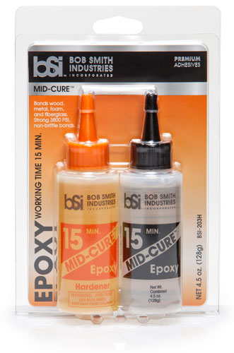 Mid-Cure 15 Minute Epoxy - BSI Adhesives