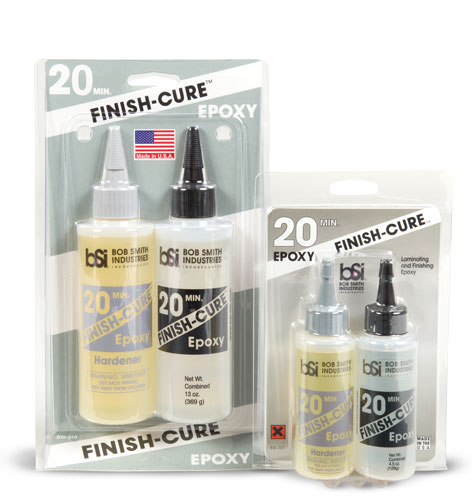 Finish-Cure 20 Minute Epoxy - BSI Adhesives