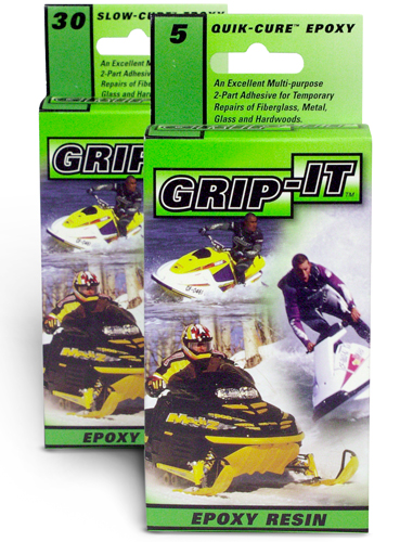Grip-It 30 minute Epoxy - Grip-It 5 minute Epoxy - Waterproof Epoxy - BSI Adhesives