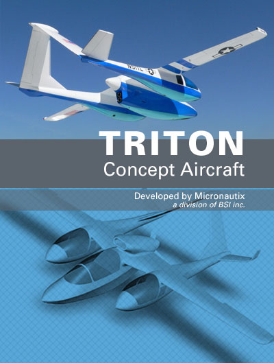 Triton Concept Aircraft - BSI - Micronautix - Charlee Smith
